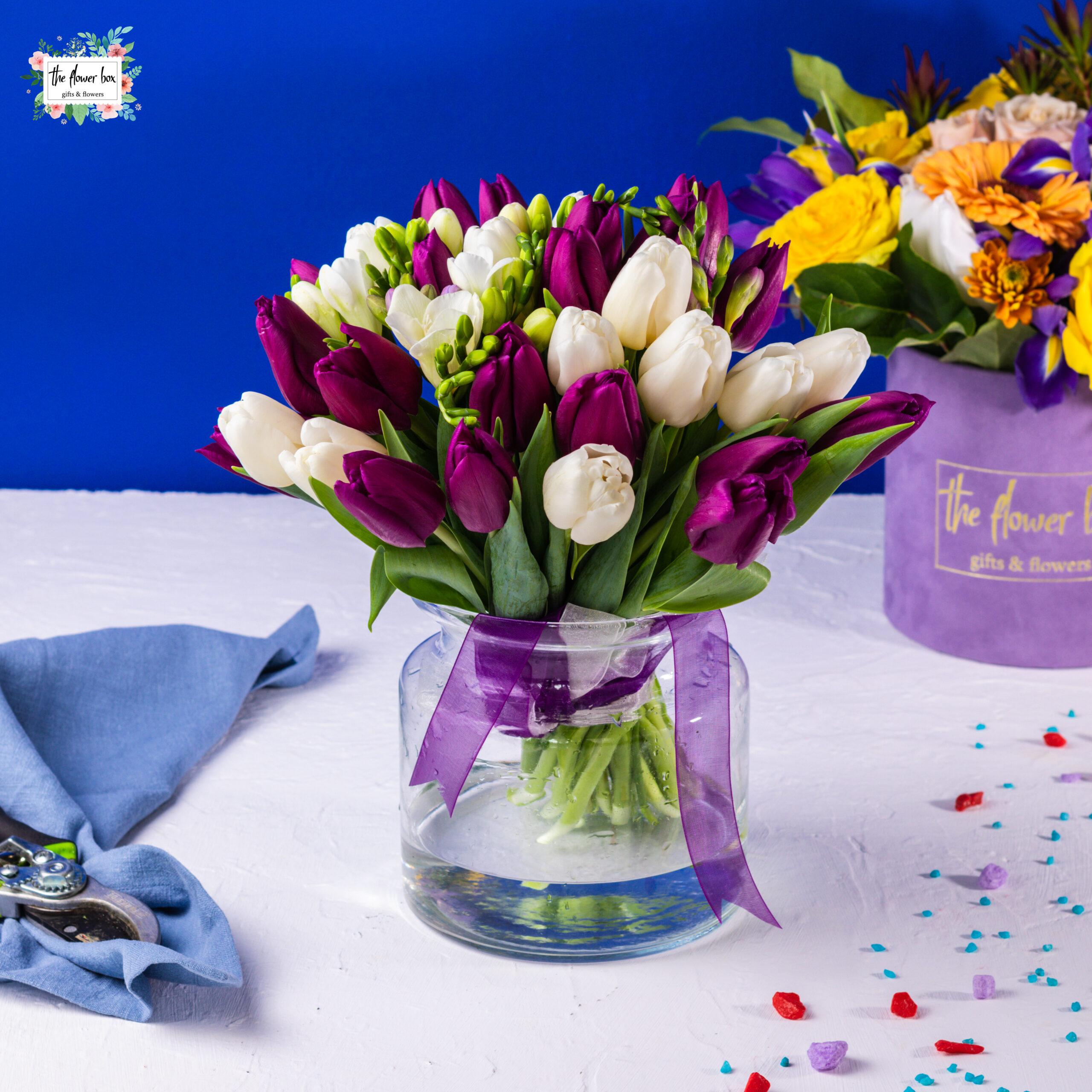 buchet de flori duo tulips