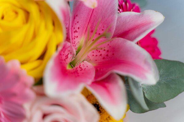 Aranjament floral Pink Fade