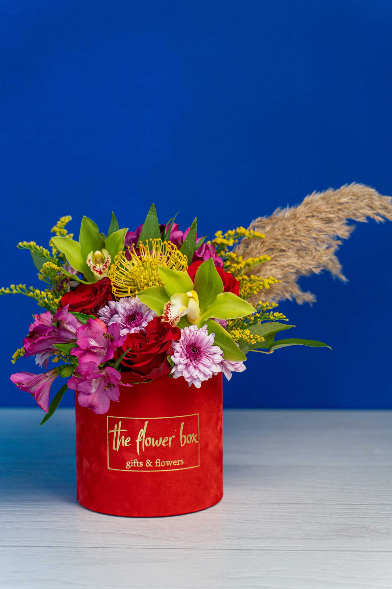 Aranjament floral Red Box