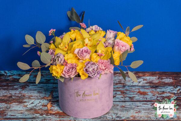 Aranjament floral Vip Lila