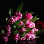 Buchet 17 lalele Big Special Pink