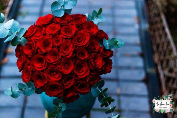Buchet cu 31 Trandafiri rosii Premium