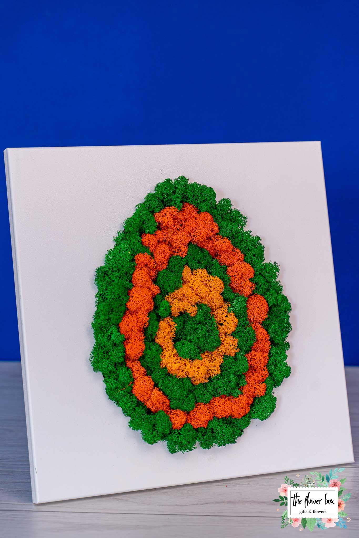 Ou de Paste din licheni – Un cadou special