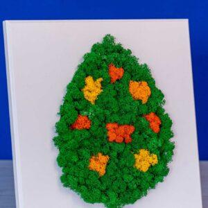 Ou de Paste din licheni - Cadoul ideal