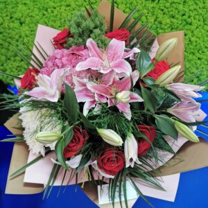 Buchet Special Pink and Red
